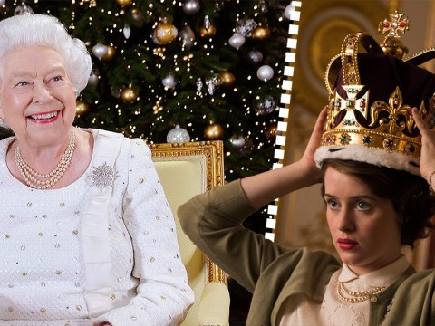 Did The Queen reference The Crown in her annual Christmas Day speech?