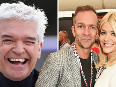 Phillip Schofield jokes he's given Holly Willoughby's husband 'the snip' so that she's not pregnant on Dancing On Ice