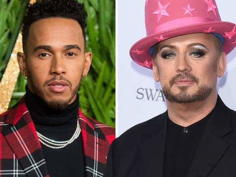 Boy George says Lewis Hamilton should be given a 'break' after mocking nephew in princess dress