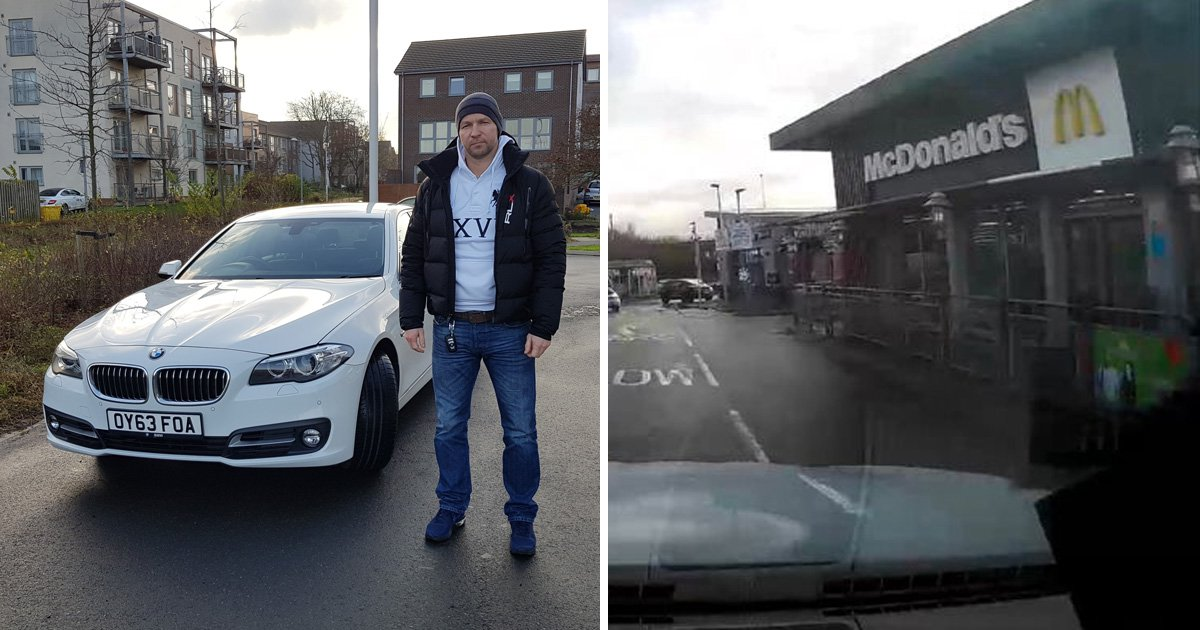 Airport valet takes car on secret 126-mile journey while owner is away