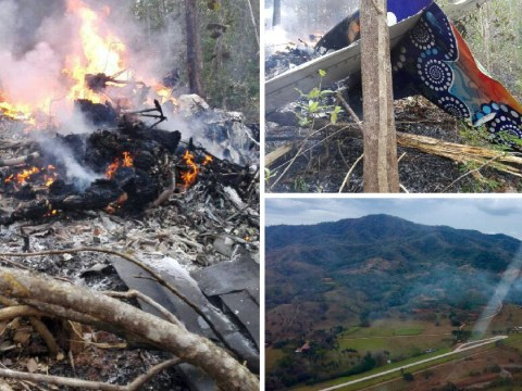 Plane crashes in Costa Rica killing at least 12 people