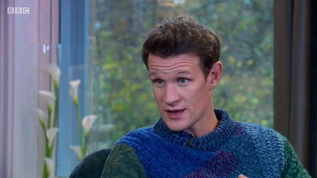 Matt Smith appearing on Andrew Marr Show