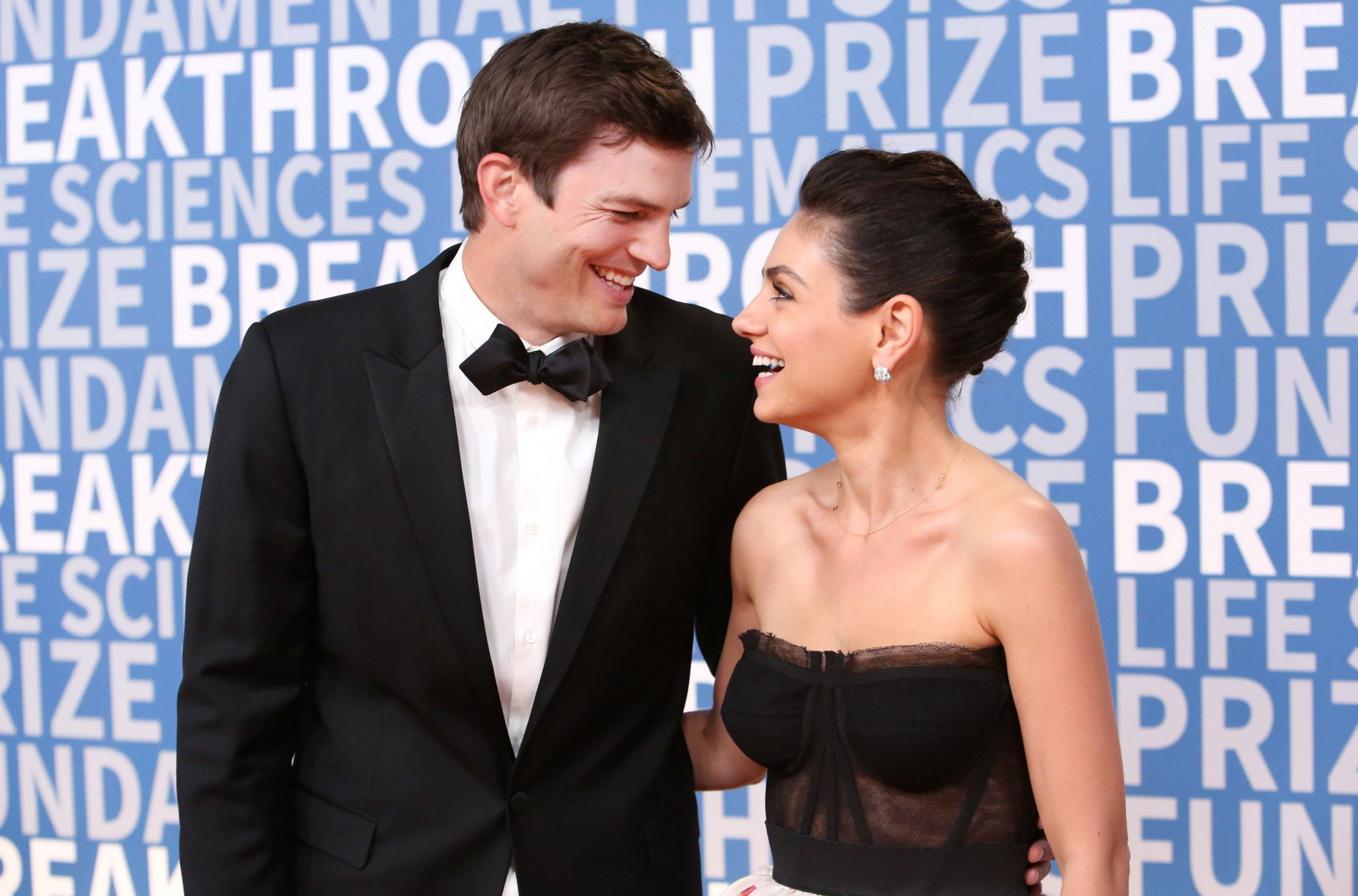 Mila Kunis and Ashton Kutcher make their first red carpet appearance together in 17 years