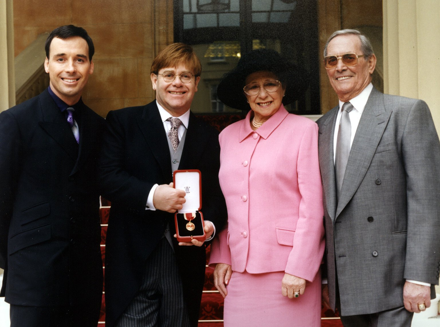 Why Elton John and his mum Sheila Farebrother had an 8-year feud and how they patched things up