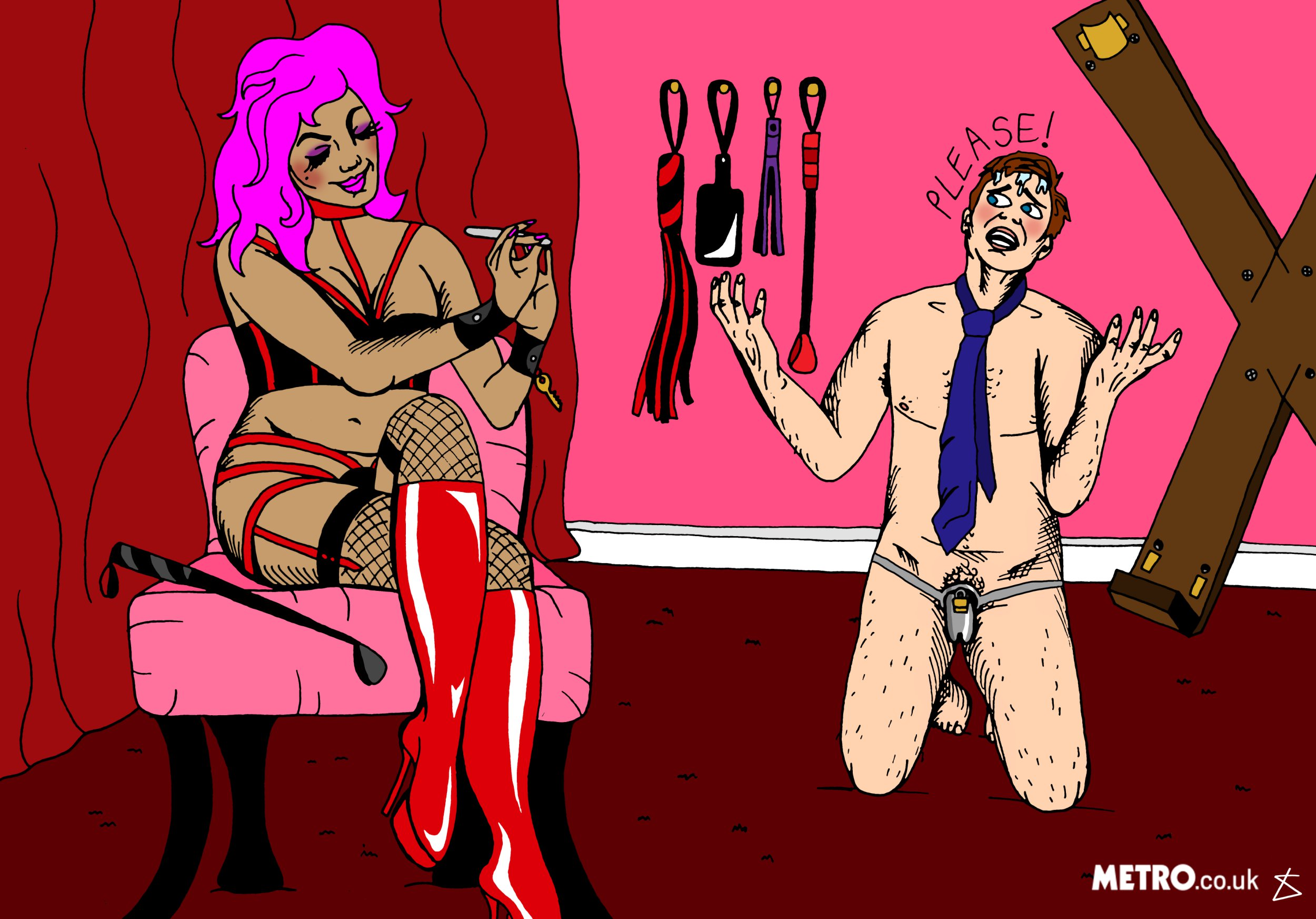 A beginners guide to orgasm control (Miranda Kane)