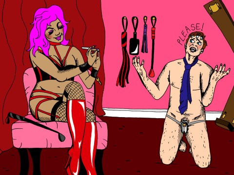 A beginner's guide to finding a mistress: my joy comes from being in control