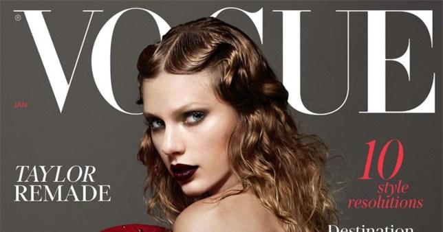 Taylor Swift covers British Vogue, first magazine of Reputation era