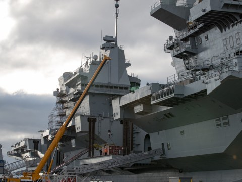 Britain is getting its biggest ever warship costing £3.1 billion