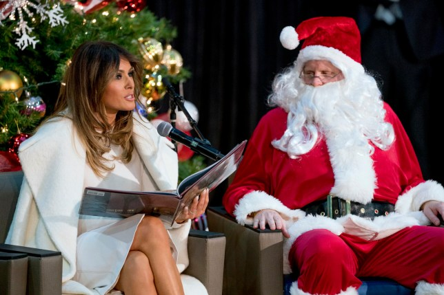 Trump Christmas.Melania Trump S Answer To Where She Would Like To Spend