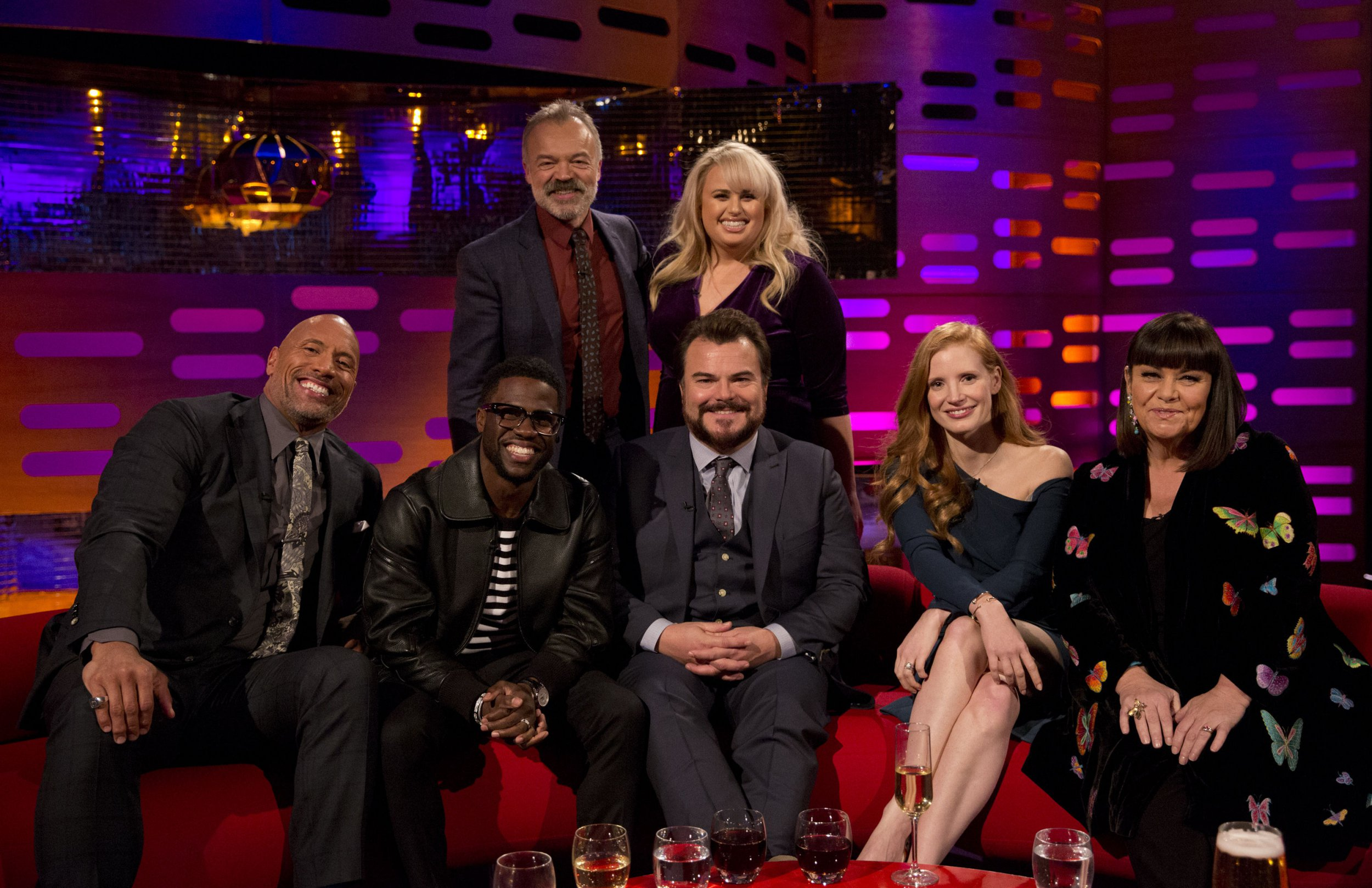 Who is on Graham Norton tonight? Dwanye Johnson, Kevin Hart and many more
