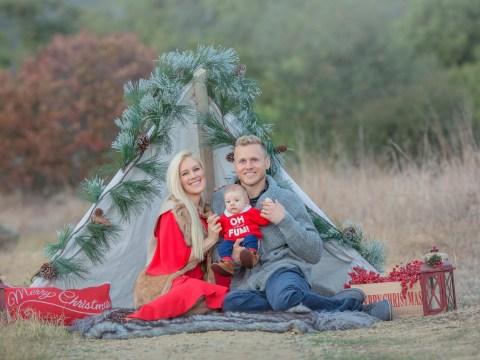 Heidi Montag and Spencer Pratt's cute family photoshoot is the embodiment of Christmas spirit