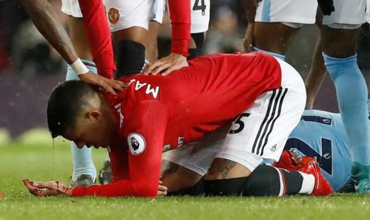 Man Utd News Marcos Rojo Reveals Gruesome Head Wound