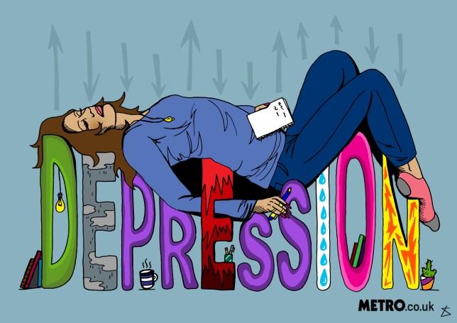 depression illo