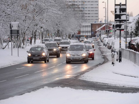 What to do if you skid on ice in your car