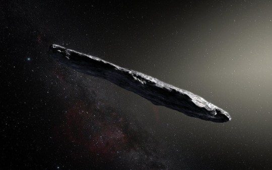 The five telltale signs which mean asteroid might actually be an alien space probe
