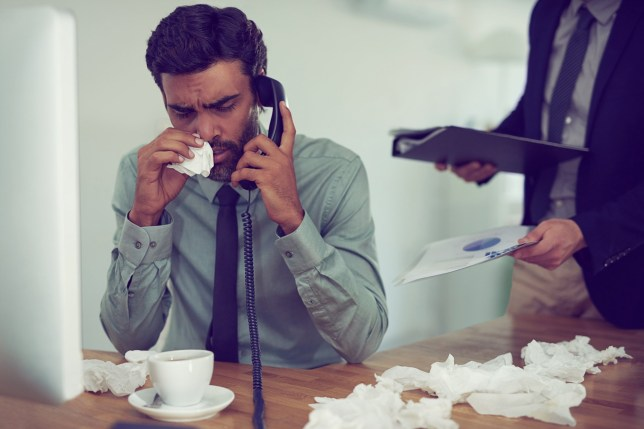 """Much-debated phenomenon of """"man flu"""" may have some basis in fact picture: Getty"""