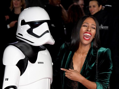 Alexandra Burke shines at Star Wars: The Last Jedi premiere ahead of Strictly Come Dancing final