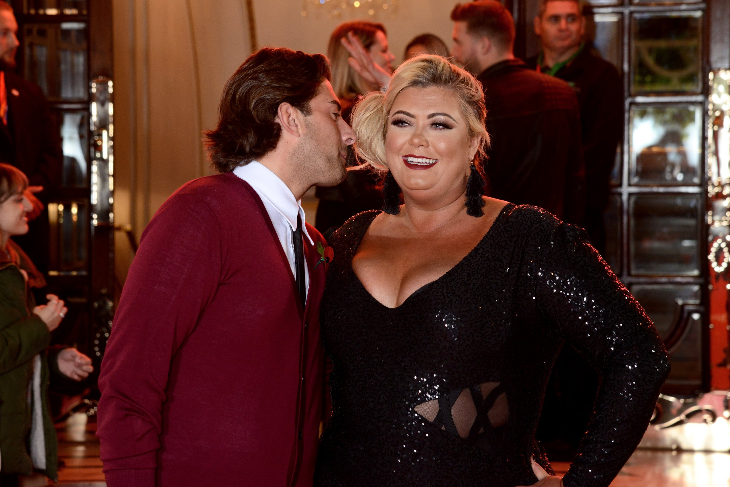 Arg pours his heart out to Gemma Collins and says he doesn't care what people think