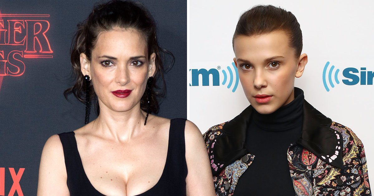 Stranger Things' Millie Bobby Brown receives SAG awards nomination – but Winona Ryder is snubbed