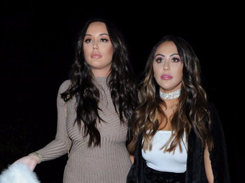 Charlotte Crosby and Sophie Kasaei forgot their coats on girl's night out