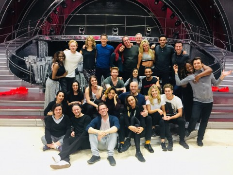 Mollie and AJ hold hands in Strictly final rehearsal snap as it's confirmed she won't be on the tour