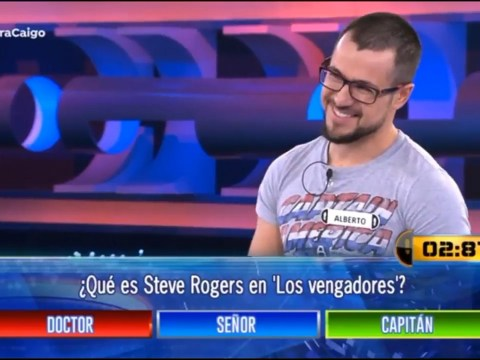 Quiz show contestant calls Captain America 'doctor' – despite having answer written on his T-Shirt