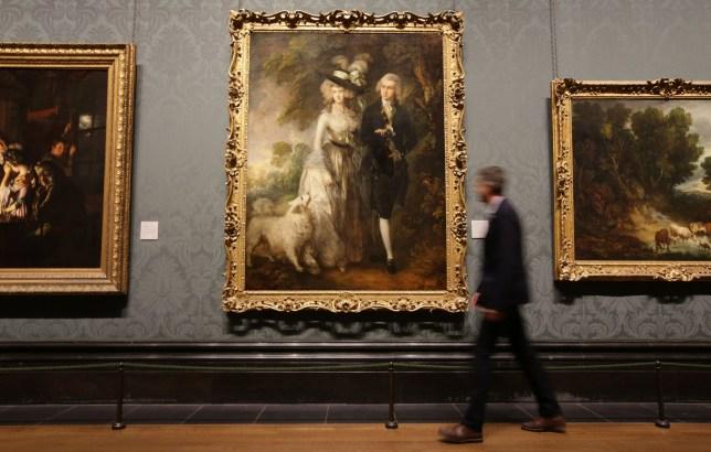 National gallery slasher