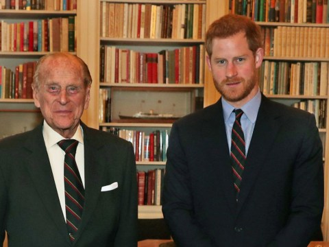 Prince Harry takes job of Captain General of the Royal Marines from Prince Philip