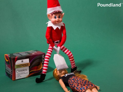 Poundland being investigated over X-rated adverts which saw an elf 'teabagging' Barbie