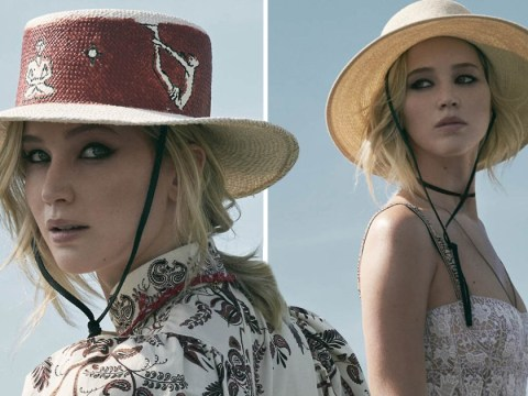 Jennifer Lawrence has got us adding maxi dresses to our summer wishlists in new Dior 2018 campaign