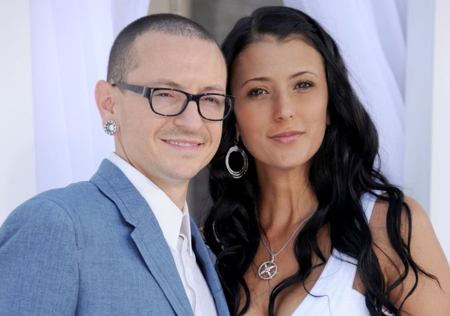 Image result for chester and talinda bennington