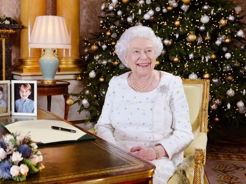 Queen pays tribute to terror-hit Manchester and London in Christmas message