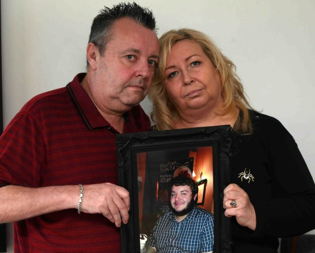 Parents warn 'don't ignore symptoms of a cold' after son dies on Christmas eve