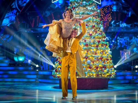 Craig Revel Horwood is ticked off by Darcey as he gives Jeremy Vine a two on Strictly's Christmas special