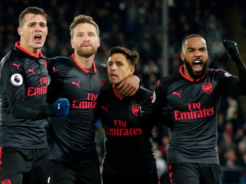 Arsene Wenger denies team spirit issues after Arsenal players snub Alexis Sanchez