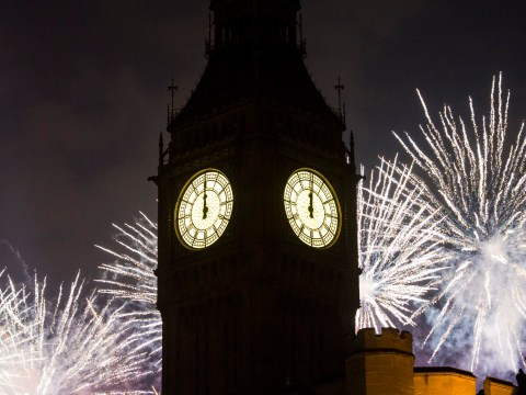 Who is performing at London's New Year's Eve concert?