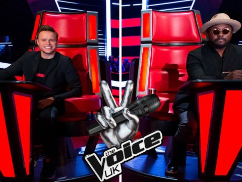 Olly Murs reckons 'competitive' Will.i.am has been 'trying to get into his head' on The Voice UK