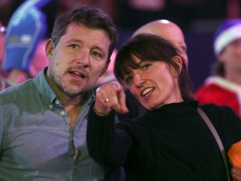 Davina McCall's all smiles on night out with pal Ben Shephard after 'lonely' Christmas post