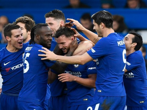 Antonio Conte delighted with new Chelsea option after N'Golo Kante and Danny Drinkwater excel