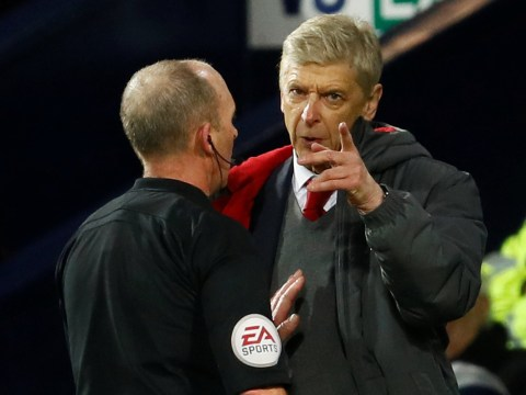 Arsene Wenger furious with decision to award late penalty to West Brom