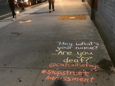 'Catcalls of NYC' is the powerful project showing what sexual harassment is like in New York