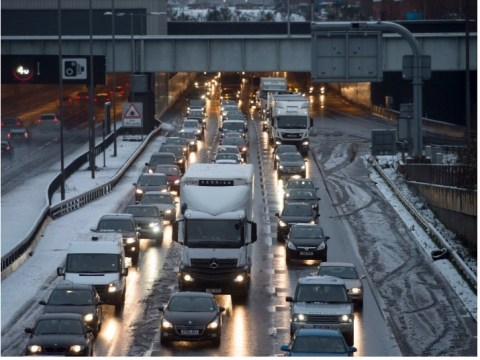 Black ice Monday to make treacherous commute after snow bomb leaves freezing temperatures