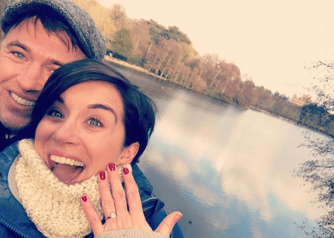 Line Of Duty's Vicky McClure announces engagement to fiancé Jonny Owen after Christmas Day proposal 'over a cup of tea'