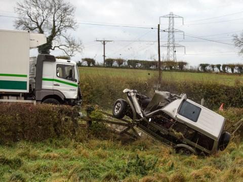Emmerdale spoilers: Chrissie and Lawrence White die in shocking car crash stunt