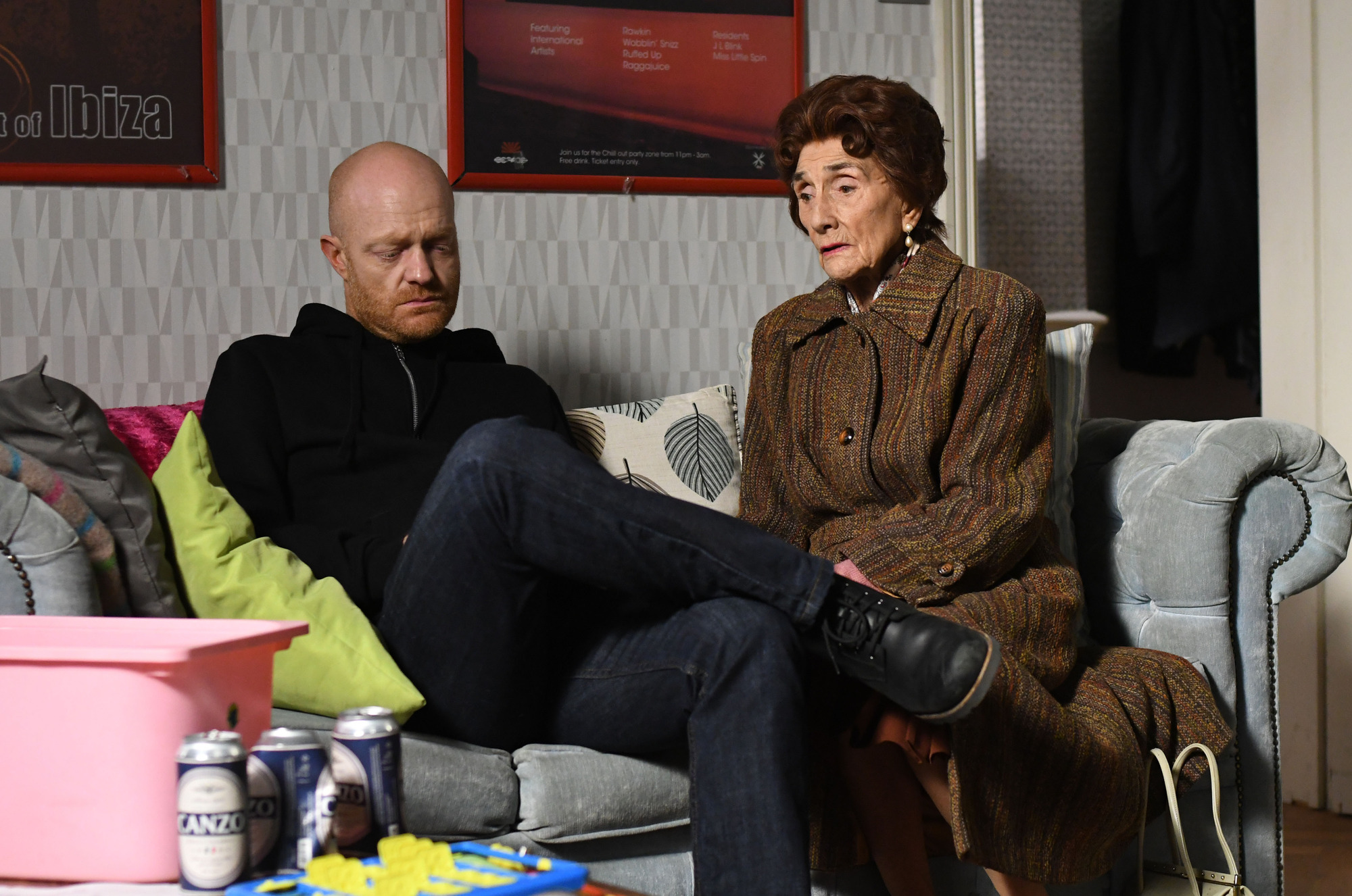 Dot consoles Max over Abi in EastEnders