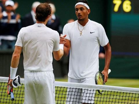 'It sucks': Nick Kyrgios reacts to Andy Murray's injury heartbreak