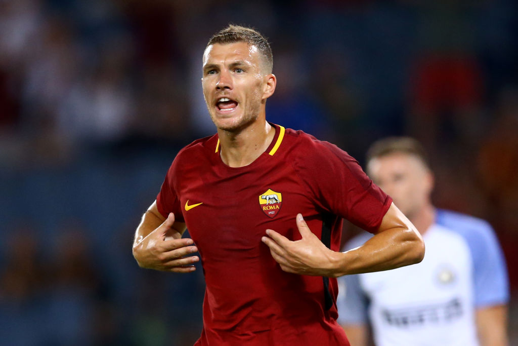 Edzin Dzeko agrees to join Chelsea in £50m deal with Emerson Palmieri