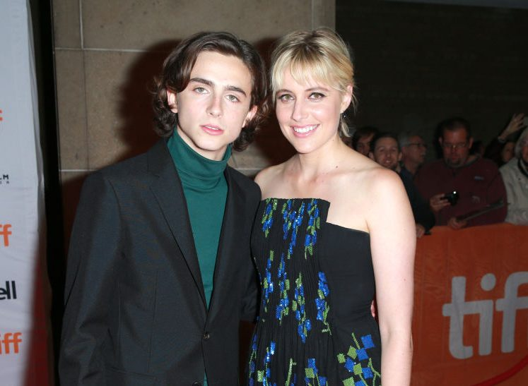 Timothee Chalamet's Lady Bird director Greta Gerwig 'guided him on Woody Allen controversy'