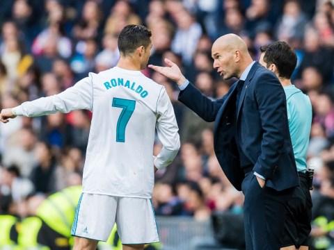 Zinedine Zidane tells Manchester United that Cristiano Ronaldo is going nowhere