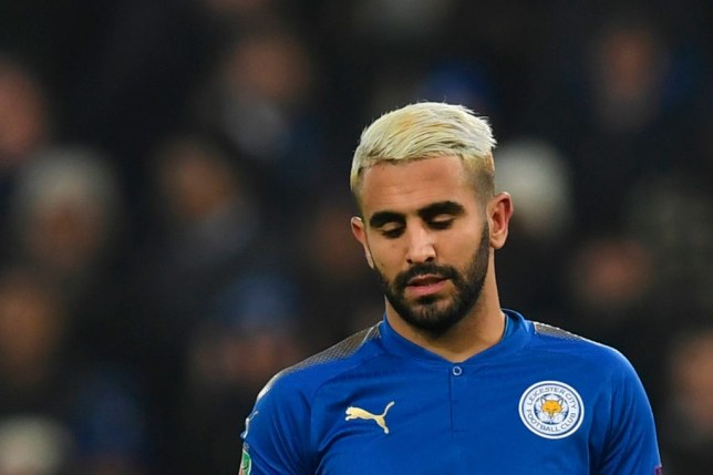 Riyad Mahrez close-up